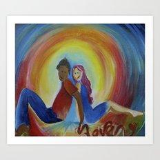 ...love...  Art Print