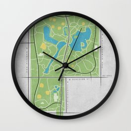 Parks of Chicago: Humboldt Park Wall Clock