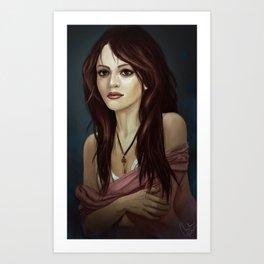 woman 2 Art Print