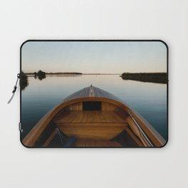 Summer Mornings On The Lake Laptop Sleeve