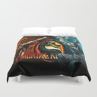 games Duvet Covers featuring games trending  , games trending  games, games trending  blanket by ira gora