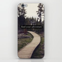 Find Your Adventure iPhone Skin
