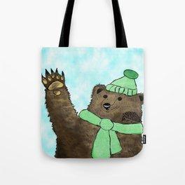 Mr. Brown and Mr. Prickles  Tote Bag