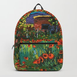 Fathers House in Taos Backpack