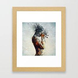 Deliberation Framed Art Print