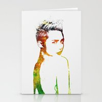 miley Stationery Cards featuring Miley Cyrus by Greg21