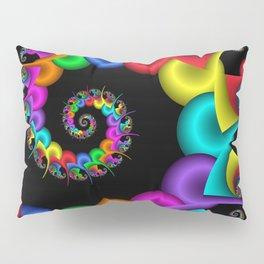 the perky spiral -4- Pillow Sham