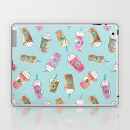 Coffee Crazy Toss in Blueberry Laptop & iPad Skin