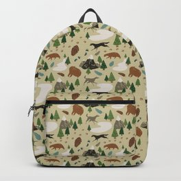 Wild White Woods Backpack