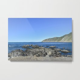 NEW ZEALAND: Coast Wellington, NZ Metal Print