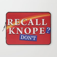 Recall Knope Laptop Sleeve