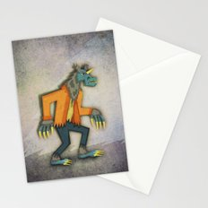 Unicorn Werewolf Stationery Cards