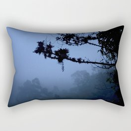 The blue forest Rectangular Pillow