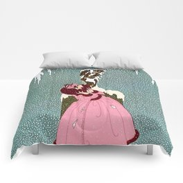"""The End of Romance"" Deco Design by Erté Comforters"