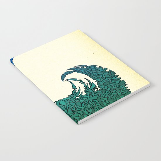 - summer wave - Notebook