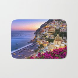 Positano Amalfi Coast Bath Mat