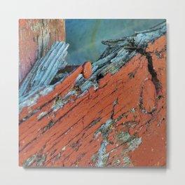 Barnwood Series-2 Metal Print