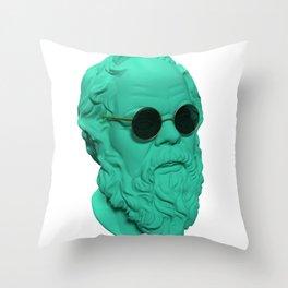 Socrates Throw Pillow