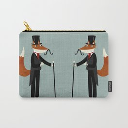 Gentleman Fox Takes a Stroll Carry-All Pouch