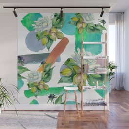 Floral Bouquet in Contemporary and Modern Designs Wall Mural