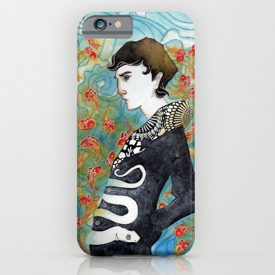 The White Snake iPhone & iPod Case