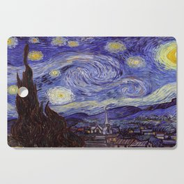 Vincent Van Gogh Starry Night Cutting Board