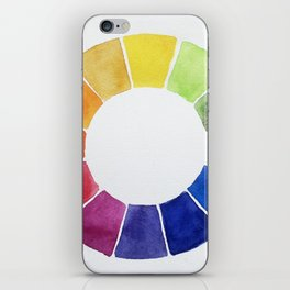 Color Wheel iPhone Skin