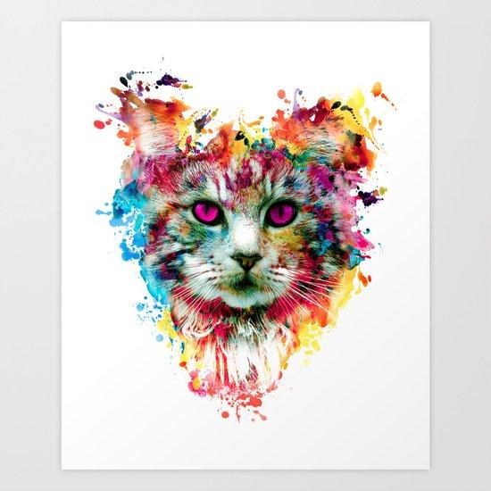 Cat II Art Print