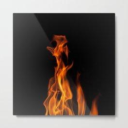 Our Flame Metal Print