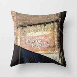 Blended Throw Pillow