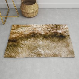 Fluffy Fur (NOT REAL FUR/PHOTO OF FUR) Rug