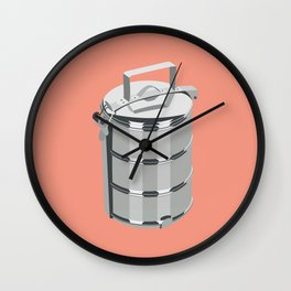 Tiffin Carrier Wall Clock