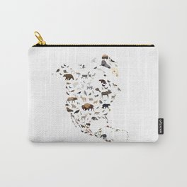 Wild North America map Carry-All Pouch