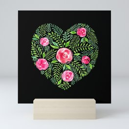 Tresno - Black Mini Art Print