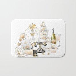 Wedding Accessories Print Bath Mat