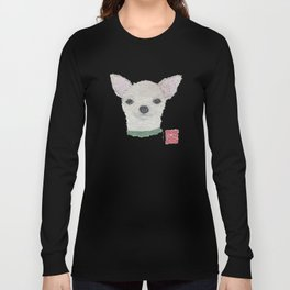 Chihuahua, Dog, Cream Chihuahua Long Sleeve T-shirt