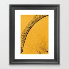 Lines Now Framed Art Print