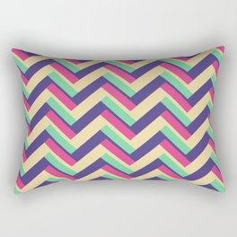 3-D Chevron Rectangular Pillow