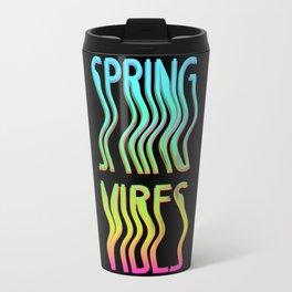 Wavy spring Vibes Travel Mug