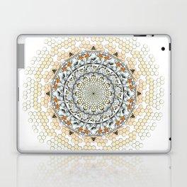 Overlapping Bee Mandala (Color) Laptop & iPad Skin