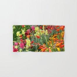 Flowers in the Kitchen Garden Hand & Bath Towel