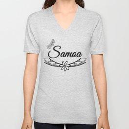 Samoa Design Unisex V-Neck