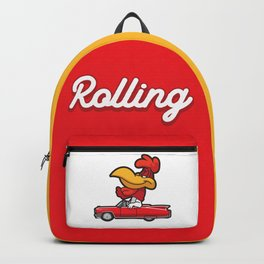 Rolling Rooster Backpack