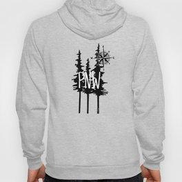 PNW Trees & Compass Hoody