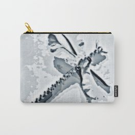 Blue Grey Dragonfly | Nadia Bonello Carry-All Pouch
