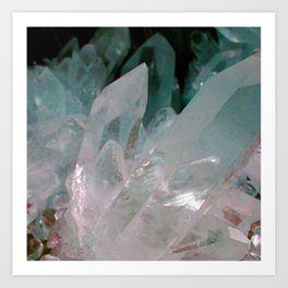 Crystal Quartz Art Print