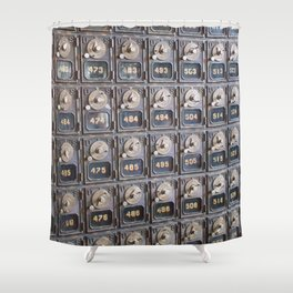 When Mail had Meaning Shower Curtain