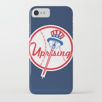 yankees iPhone & iPod Cases featuring the NY uprising by Jacekeller