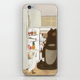 snack time iPhone Skin