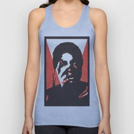 Peace out Jess_red Unisex Tank Top